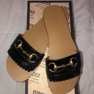 Gucci Varadero Slides in Black